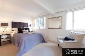 简欧风格复式卧室装修效果图大全2012图片