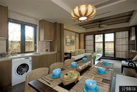 日式风格居家餐厅装修图片欣赏