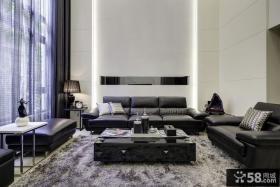 现代豪华复式客厅装修效果图大全