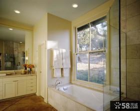 简约风格装修图片 简约浴室装修效果图