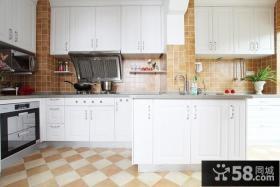 简约北欧风格开房式厨房装修