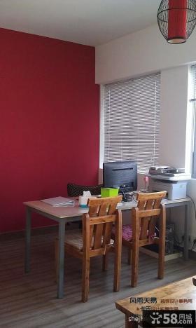 小户型家庭办公桌实景图