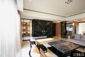新古典风格设计客厅电视背景墙图片欣赏