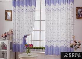 客厅飘窗窗帘设计图片
