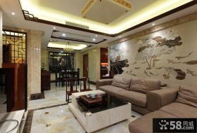 中式古典客厅室内设计效果图
