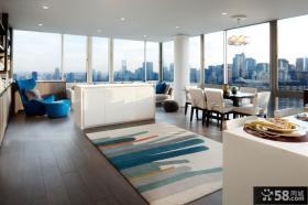 80平简约风格装修客厅图片设计