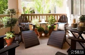 开放式阳台花园装修效果图大全2013图片