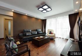 现代10平米客厅吊顶图