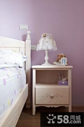 家庭设计装修卧室床头台灯图片