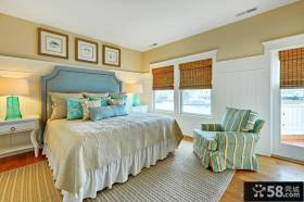 田园美式卧室装修设计效果图欣赏