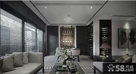 现代风格大客厅吊顶装修效果图片欣赏