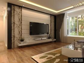 现代风格电视背景墙装修效果图-12.24