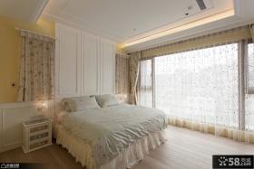 简约三居设计卧室装饰效果图