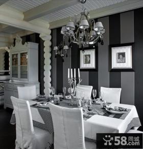 美式乡村别墅客厅玄关装修效果图大全2012图片
