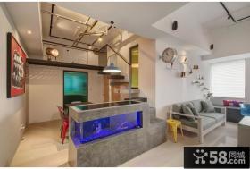 简约创意复式家装效果图