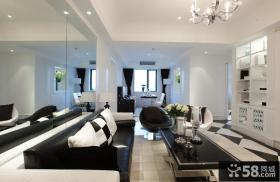 现代家居风格客厅装修图