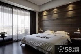 新中式卧室背景墙装修效果图大全