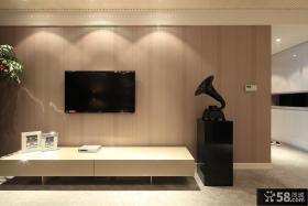 现代风客厅电视背景墙装修图片