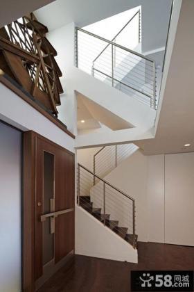 简欧家居别墅楼梯装修设计