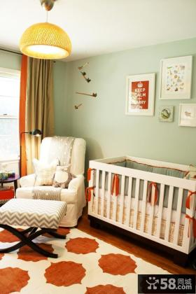 儿童房装修效果图大全2012图片 2012儿童房背景墙装修效果图