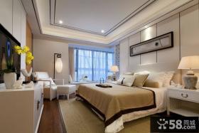 中式简约风格卧室设计家装效果图