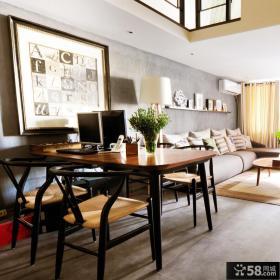 北欧40平米一居室复式挑高装修设计