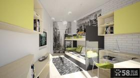 美式风格儿童卧室装修效果图