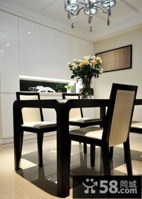 现代风格小户型餐厅设计