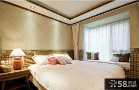 简约中式装修效果图卧室