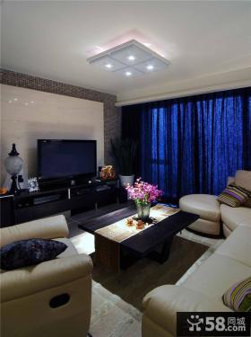 现代室内时尚设计客厅电视背景墙效果图欣赏大全
