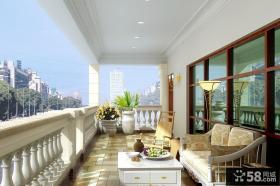 客厅连接阳台装修