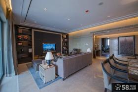 美式新古典风格四居室设计装修效果图大全