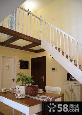 现代室内阁楼楼梯装修效果图