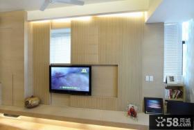 现代电视背景墙效果图片