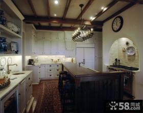 欧式厨房装修效果图大全2012图片 整体橱柜