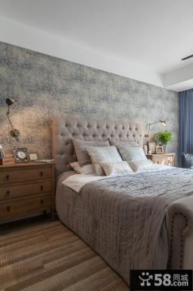 美式乡村风格卧室效果图欣赏