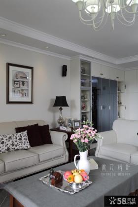 客厅沙发背景墙装饰画效果图片