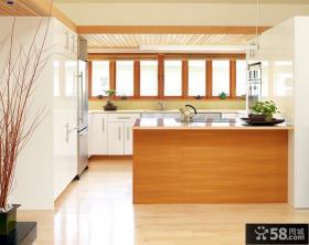 复式楼后现代风格厨房橱柜装修效果图大全2012图片
