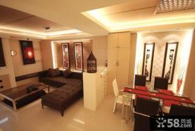 现代风格二居室装饰设计图片欣赏