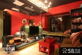 混搭小户型客厅装修效果图欣赏