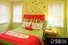 60平米小户型女生卧室装修效果图