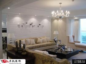 客厅沙发背景墙面装饰效果图