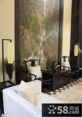 古典中式客厅装饰案例