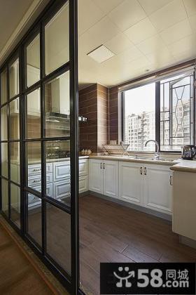 美式风格家装厨房设计