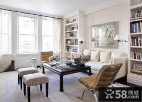 15万打造清新简欧风格三居卧室装修效果图大全2014图片