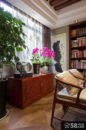 中式风格别墅家庭室内装修图片大全