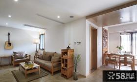 日式复式家居室内装饰效果图片