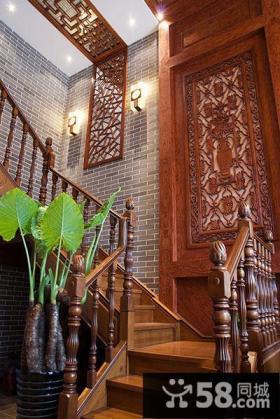 古典中式楼梯设计案例