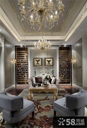 欧式别墅室内装饰设计效果图
