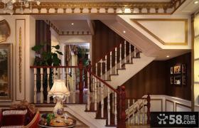 巴洛克别墅楼梯扶手效果图